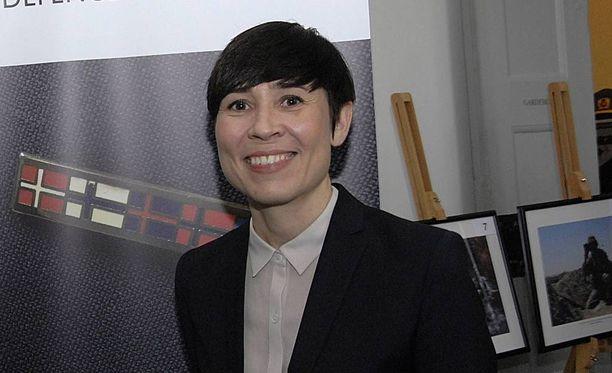 Norjan puolustusministeri Ine Eriksen Soreide