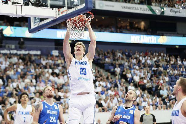 Lauri Markkanen on kerännyt massaa tulevaa NBA-kautta varten.