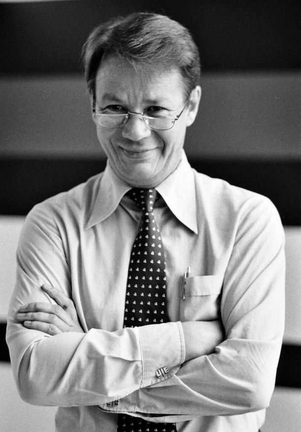 Markus Similä 10. päivä kesäkuuta vuonna 1981.