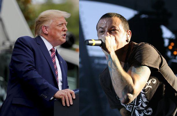 Linkin Park ei hyväksynyt musiikkinsa käyttöä osana Trumpin kampanjaa.