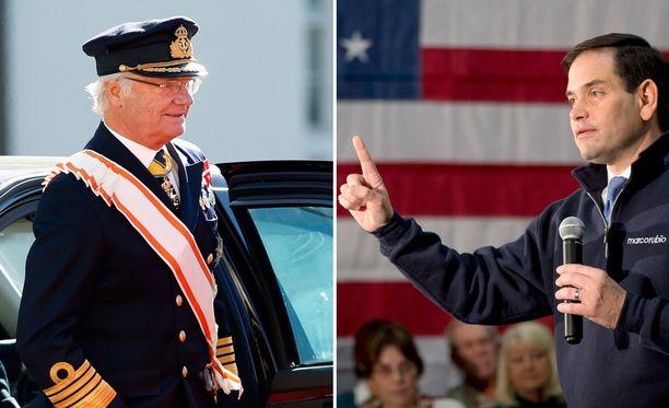 Kuningas Kaarle Kustaa lispahti Marco Rubion mielestä kriittisellä hetkellä.