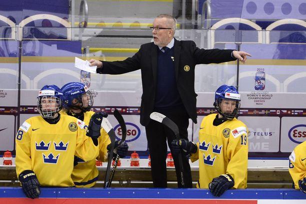 Leif Boork on viimeksi valmentanut Ruotsin naisten maajoukkuetta.