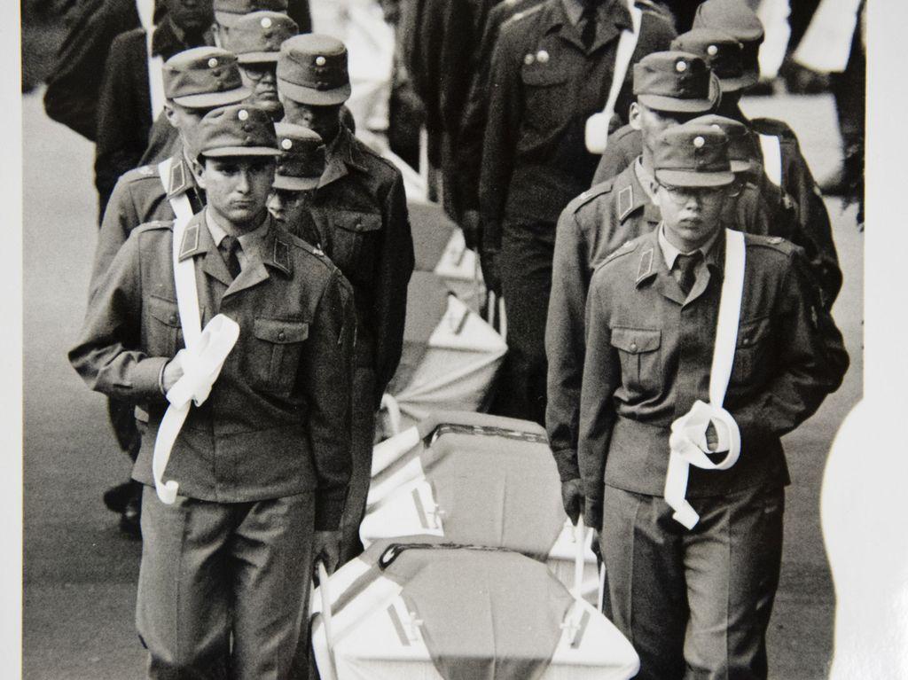 Hautajaiset järjestettiin 5. heinäkuuta 1991.