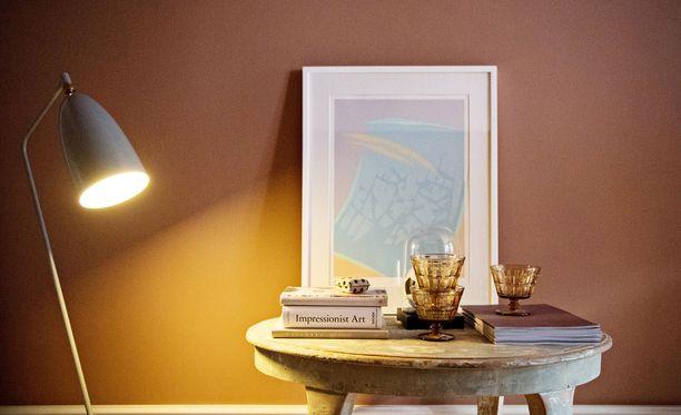 Kotien seiniä maalataan nyt värikkäiksi.
