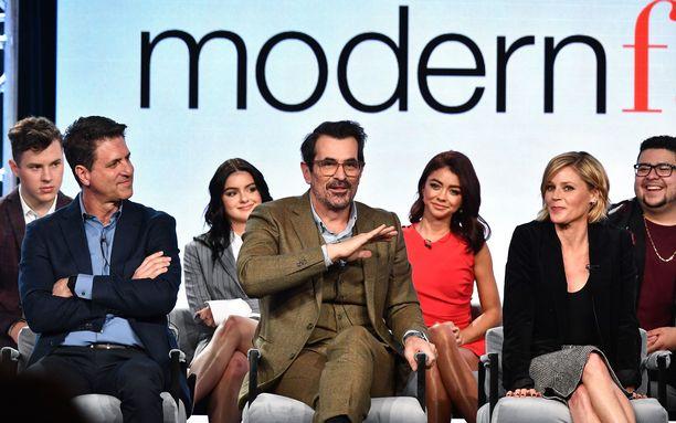 Moderni perhe -sarjan viimeistä kautta esitetään parhaillaan Yhdysvalloissa.