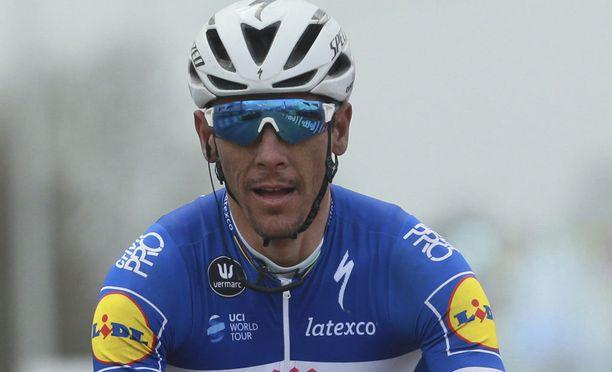 Philippe Gilbertiä ei enää nähdä Ranskan ympäriajossa.