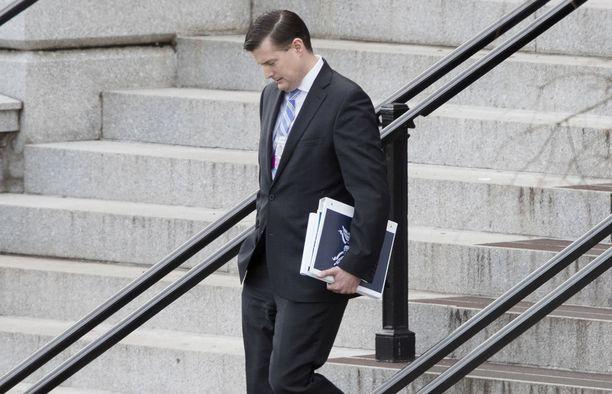 Entisten vaimojensa pahoinpitelystä epäilty Rob Porter erosi tehtävästään helmikuun alussa.