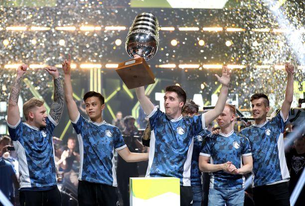 Liquid juhli viime kesänä Kölnissä CS:GO-turnauksen voittoa. Palkintorahaa napsahti 300 000 dollaria.