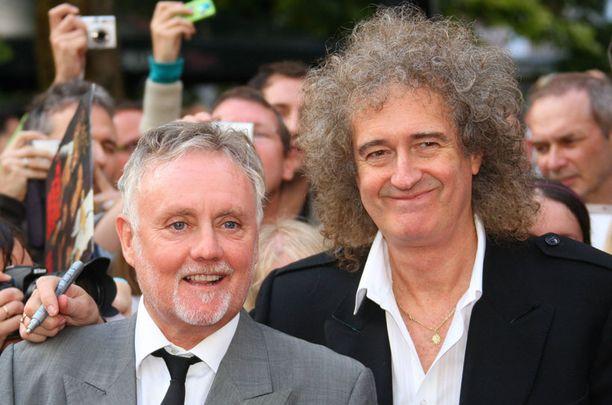 Roger Taylor ja Brian May pitävät Queenia pystyssä ainoina alkuperäisjäseninä.
