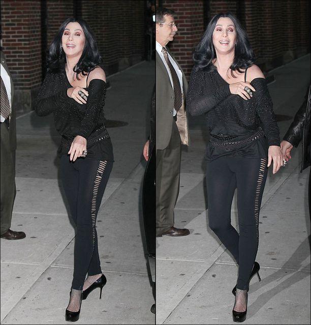 Cher oli päästä varpaisiin rock.