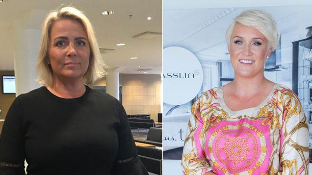 Kaisa Liski ja Mira Kasslin kohtasivat toisensa hovioikeudessa.