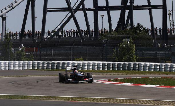 Nürburgring saattaa kuulua F1-sarjan kisakalenteriin taas vuonna 2017.