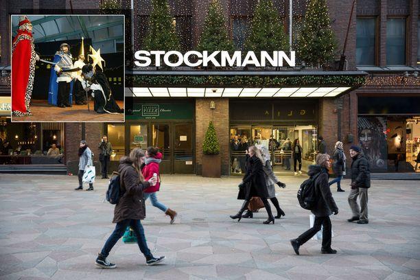 Stockmannin henkilöstö esitti perinteistä Tiernapoika-joulunäytelmää jouluviikolla. Stockmann ilmoitti viime lauantaina poistaneensa videon ja pahoitteli tapahtumaa. Kuvituskuva.