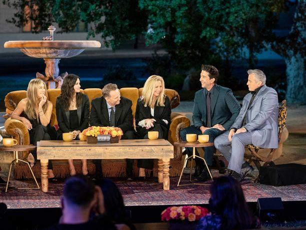 Friends: The Reunion -erikoisjakso ilmestyi torstaina. Suomessa jakson näkee HBO Nordic -palvelusta.