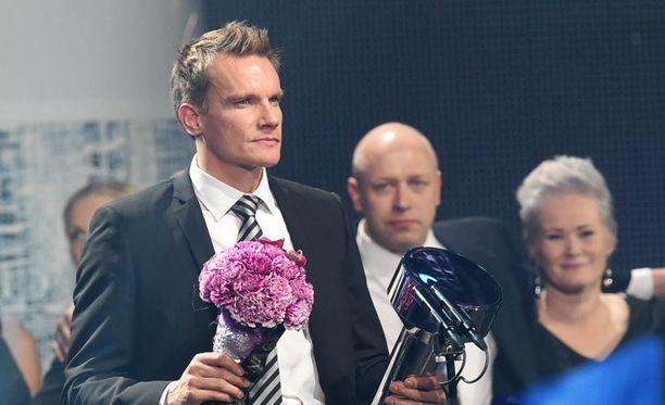 Tuomas Sammelvuo valittiin Vuoden esikuvaksi vuonna 2012. Tänään hänestä tuli Vuoden valmentaja 2014.
