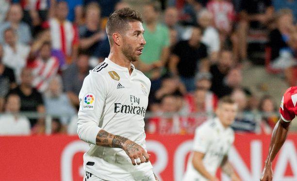 Sergio Ramos kipparoi Real Madridin voittoon Kataloniassa.