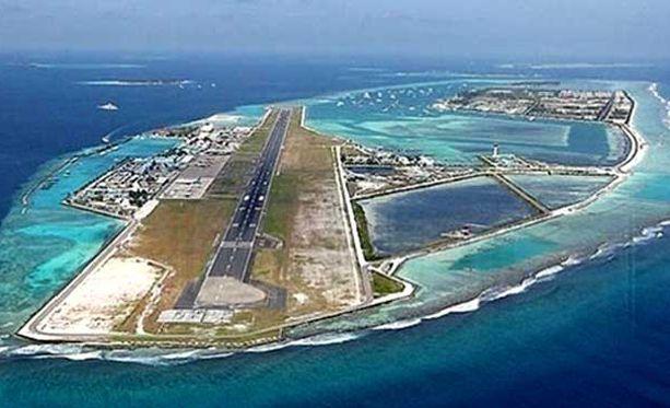 Kiinan rakentamille tekosaarille kiistellyillä merialueilla on ilmestynyt muun muassa lentokenttä.