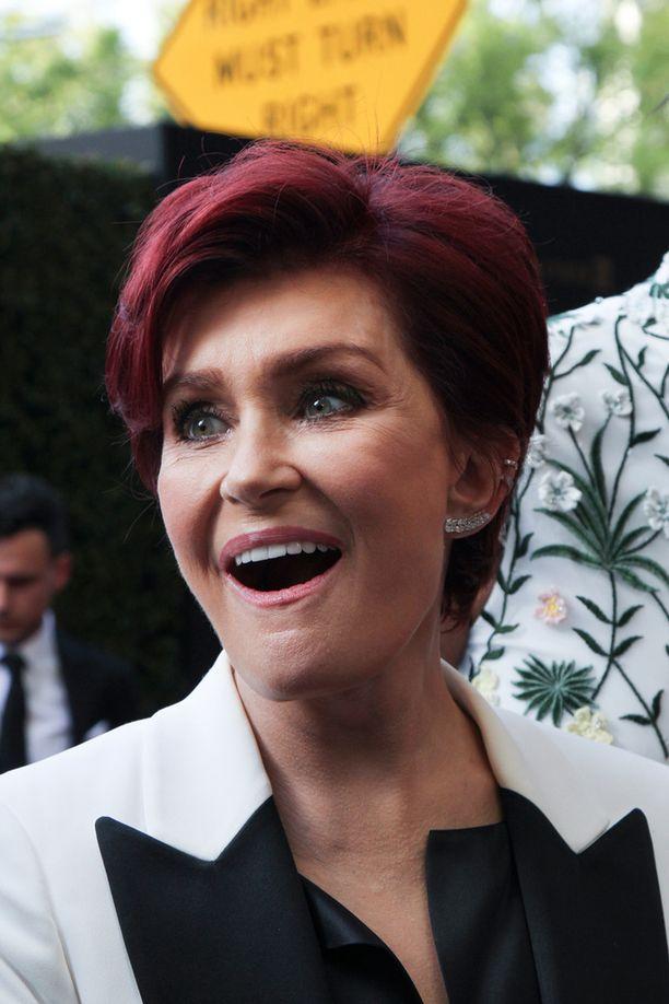 Sharon Osbourne on vahvistanut eron julkisuudessa.