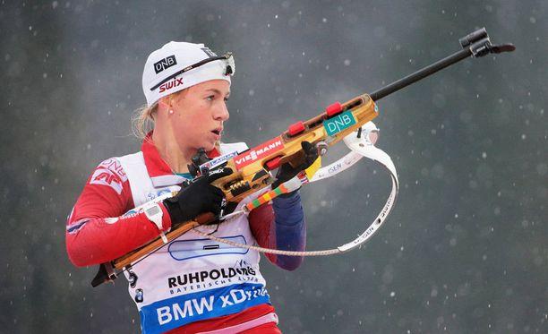 Tiril Eckhoff on käytännössä Norjan ainut toivo. Onnistumisia ei ole kuitenkaan tullut Kontiolahdella.