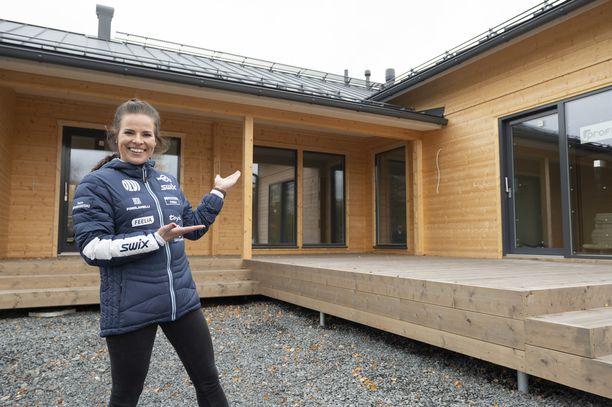 Krista Pärmäkoski pääsee muuttamaan unelmiensa kotiin marraskuun lopussa.