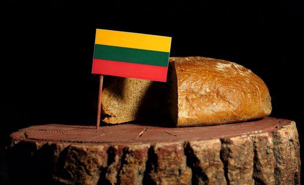 Liettuassa popsitaan paljon leipää.