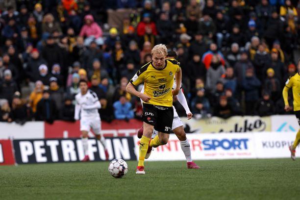 Ville Saxman voitti viime kaudella uransa ensimmäisen Suomen mestaruuden.