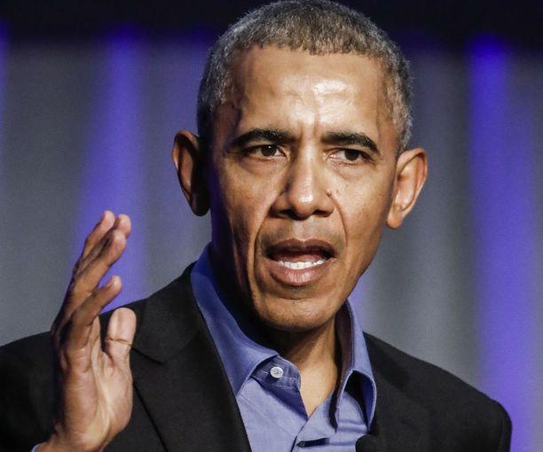 Barack Obama on ottanut harvakseen kantaa Trumpin ajan politiikkaan.