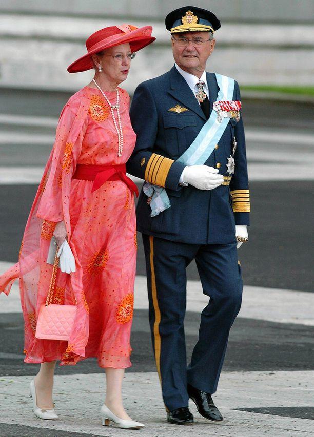 Prinssi Henrik ja kuningatar Margareeta olivat naimisissa 50 vuotta.