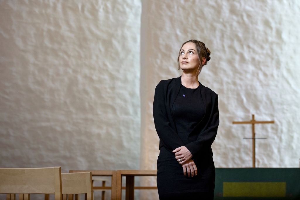 Katri Haapanen on nykyään Vantaan Korson kirkon suntio.