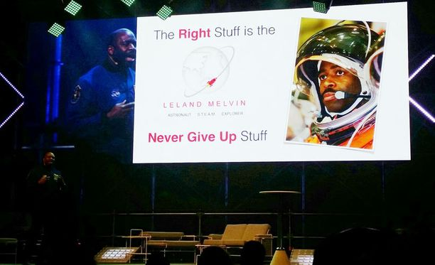 Leland Melvinin mukaan ihmisen merkittävin kyky on sinnikkyys.