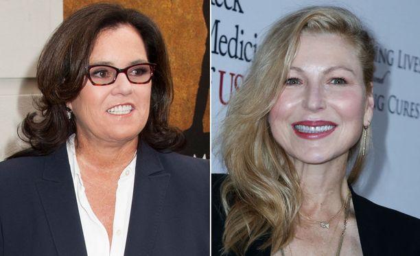 Rosie O'Donnell ja Tatum O'Neal tapailevat People-lehden mukaan.