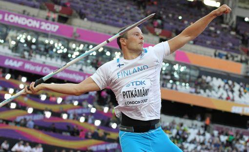 Tero Pitkämäki heitti karsinnassa lähes 86 metriä.