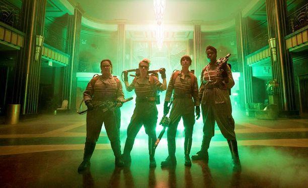 Ghostbustersin uusi versio marssittaa haamuja vastaan joukon älykkäitä ja vahvoja naisia.