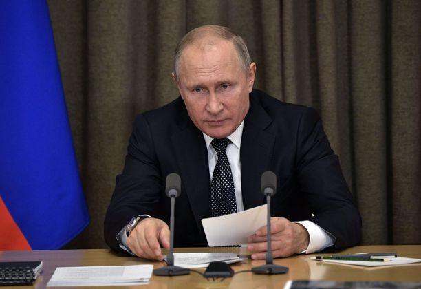 Putin on hallinnut Venäjää jo 18 vuotta.