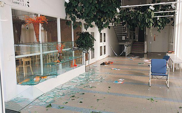 22-vuotias opiskelija Matti Juhani Saari ampui Kauhajoella 10 ihmistä 23.9.2008.
