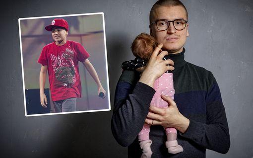 Mihin katosi lapsiräppäri Puhuva Kone? Pyry Karjalainen, 21, on tuore isä - tältä hän näyttää nyt