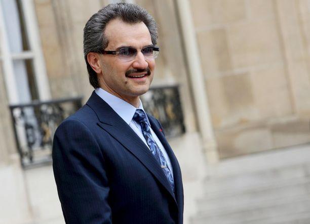 Prinssi Al-Walid bin Talal on yksi yli 200 korruptioepäillystä.