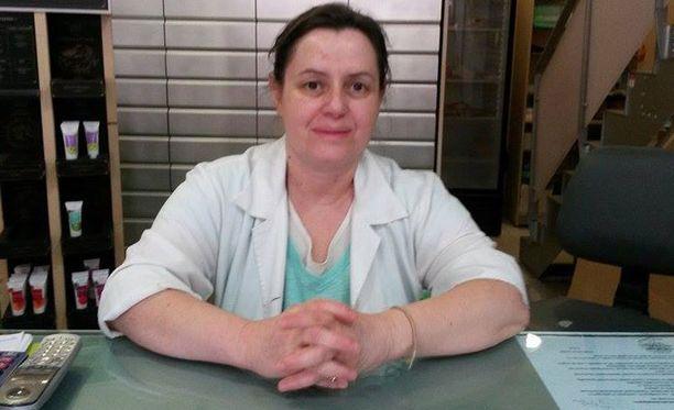 Apteekkari Maria Methaidon toivoo eurojohtajien auttavan Kreikkkaa.