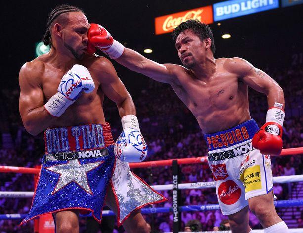 Nelikymppinen Manny Pacquiao kukisti Keith Thurmanin sensaatiomaisesti.