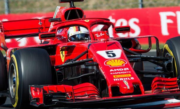 Ferrari on tällä kaudella ollut loistava starteissa.