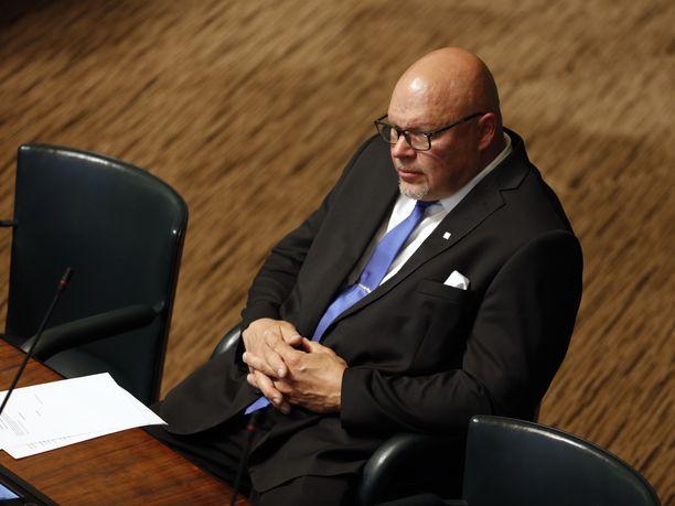 Kansanedustaja Ano Turtiainen erotettiin perjantaina perussuomalaisista.