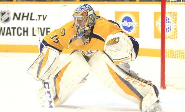 Pekka Rinne jatkoi huikeita otteitaan Nashville Predatorsin maalilla, kun Winnipeg Jets kaatui 5-1.