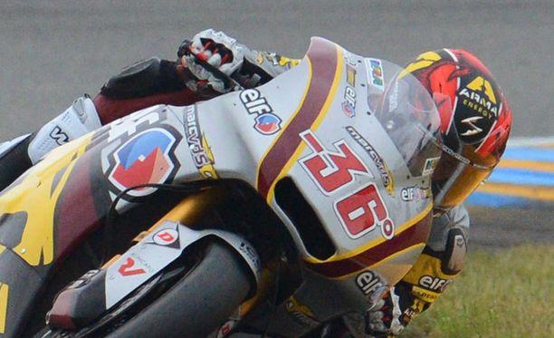 Mika Kallio nousi viidenneksi.