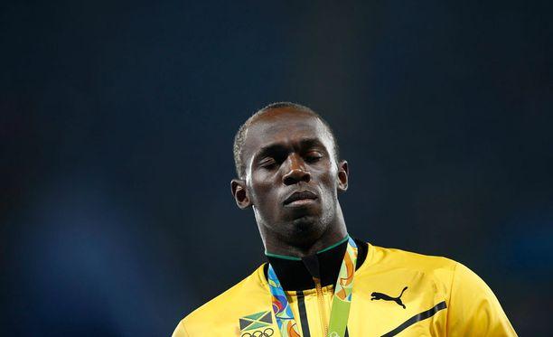 Usain Bolt voitti Riossa kolme olympiakultaa.