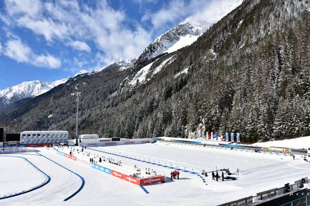 Antholzin ampumahiihtostadion Südtirol Arena sijaitsee reilut 1 600 metriä merenpinnan yläpuolella.