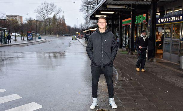 Eero Markkanen tunnetaan Solnassa.