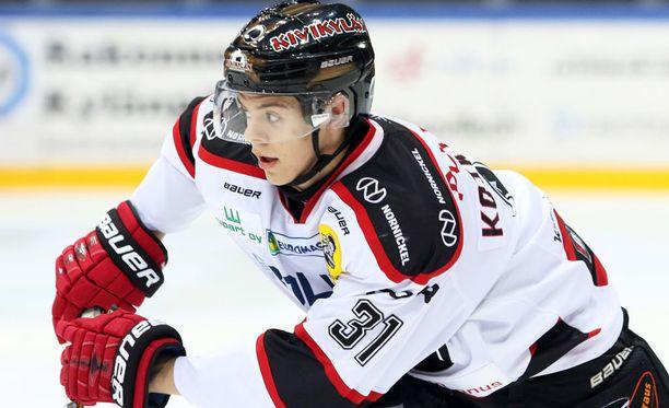 Jesperi Kotkaniemi laukoi ottelun voittomaalin.