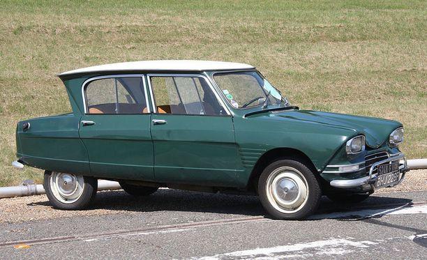 Citroën Ami oli usean vuoden ajan Ranskan myydyin automalli.