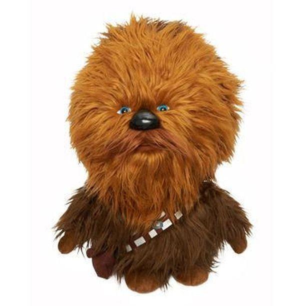 Chewbaccaa löytyy myös jättipehmona.