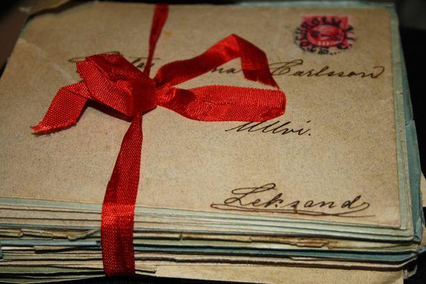 Viimeinen rakkauskirje löytyi vasta miehen kuoltua.